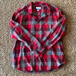 Columbia Flannel Men's Button Down Shirt